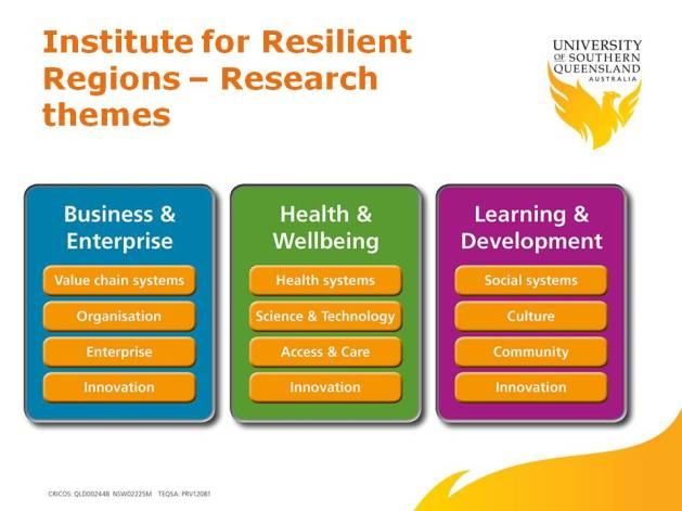 IRR research themes