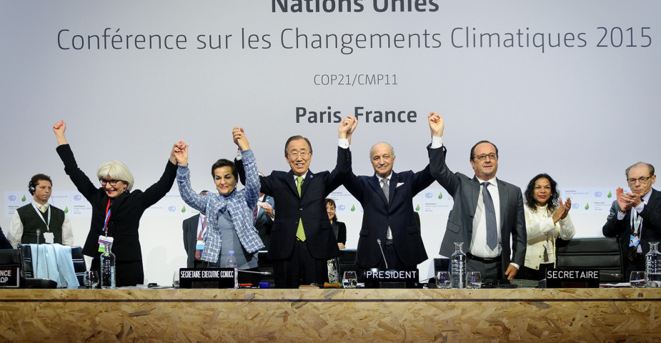 End of the beginning of global climate changeresponse